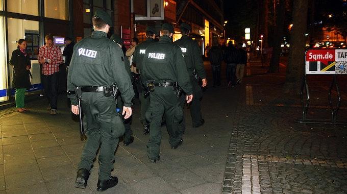 Polizeieinsatz am Ring