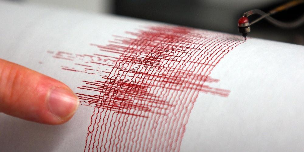 Erdbeben Symbol