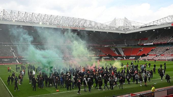 Manchester-Fans