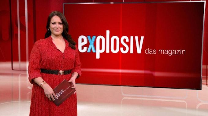 """Leonie Koch moderiert seit 2020 in der Sendung """"Explosiv""""."""
