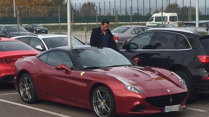 Martin Stranzl mit seinem Ferrari California T (560 PS).