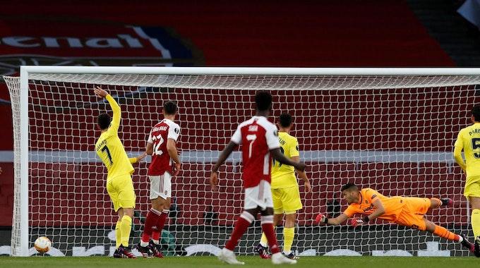 Pfosten_Aubameyang_Arsenal