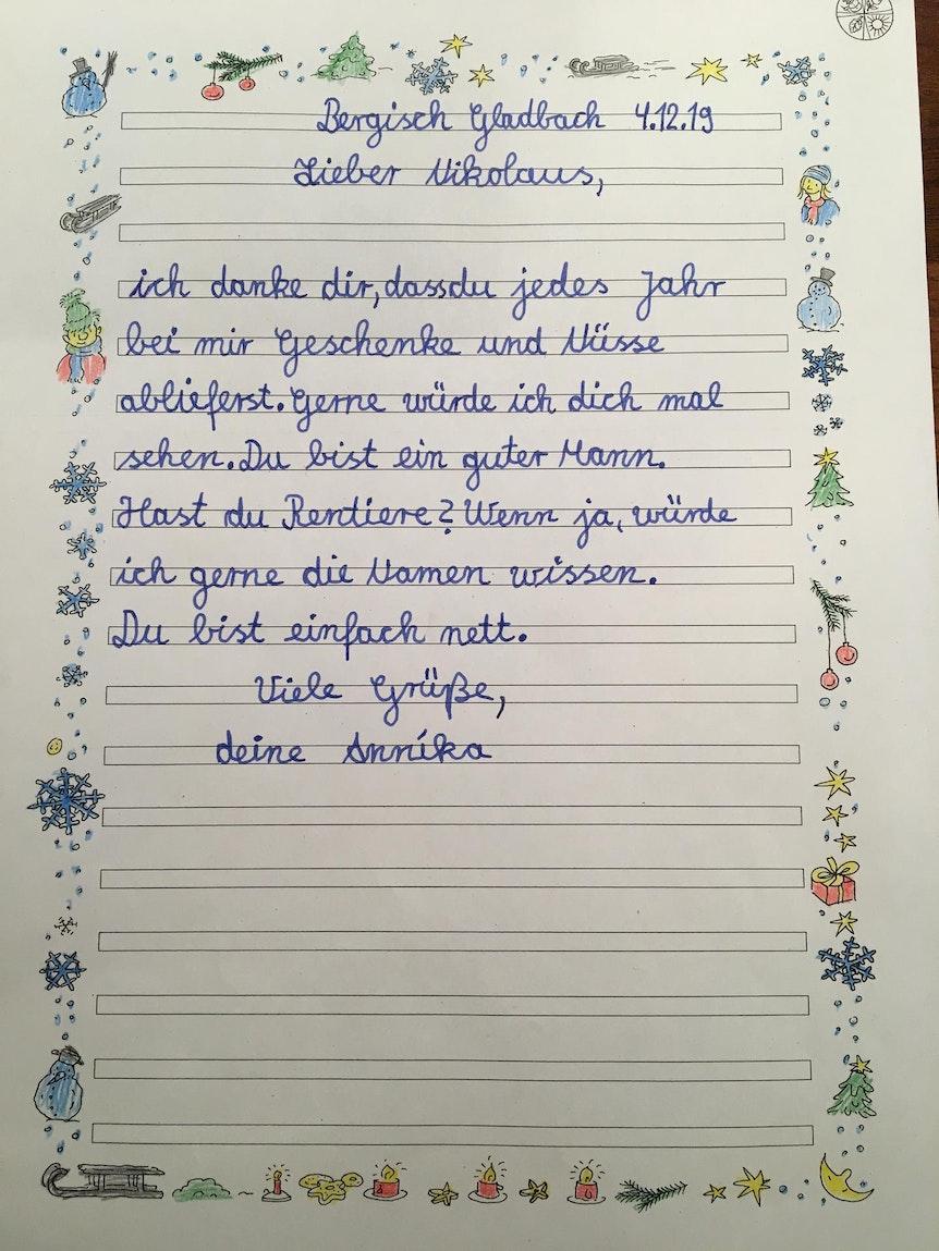 Kinder aus Bergisch Gladbach schreiben dem Nikolaus   Express
